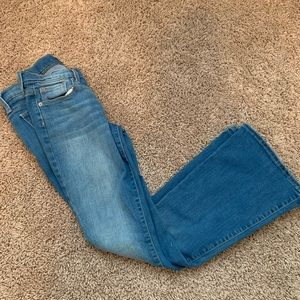 Old Navy | flare jeans | size 8 and 10